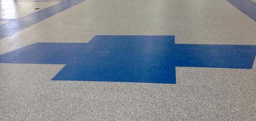 Colored Epoxy Floors