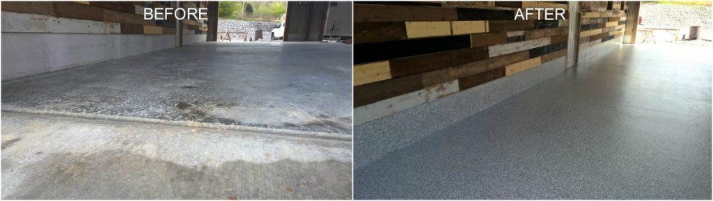 Concrete Flooring Makeover
