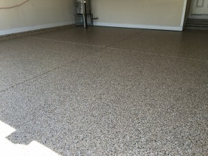 Epoxy Resin Garage Floor