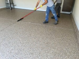 Residential Garage Epoxy Flooring